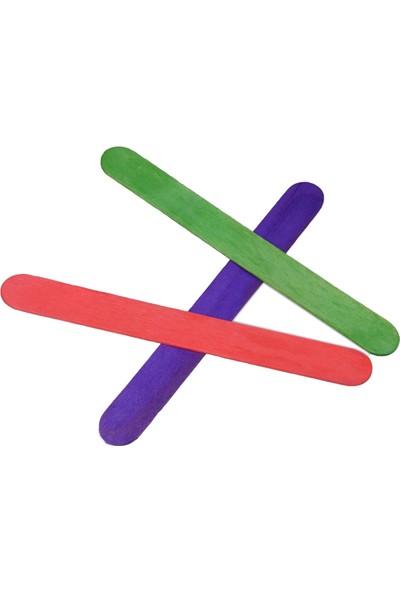 Temel Abeslang Renkli Dil Çubuğu 50'li