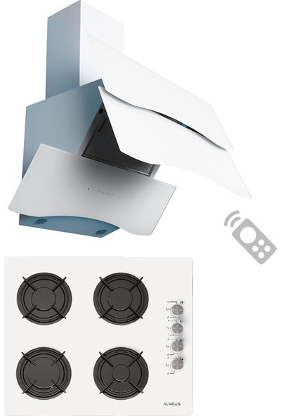Alveus Homeday Beyaz 2'li Ankastre Set (Gls 640 + Mod Spr)