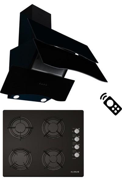 Alveus Homeday Siyah 2'li Ankastre Set (Gls 640 + Mod Spr)
