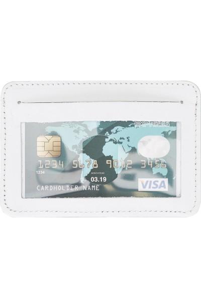 PLM Deri Bozuk Para Cüzdanı F3 Beyaz