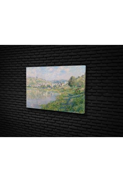 Tablo 360 Claude Monet- Vetheuil Kanvas Tablo