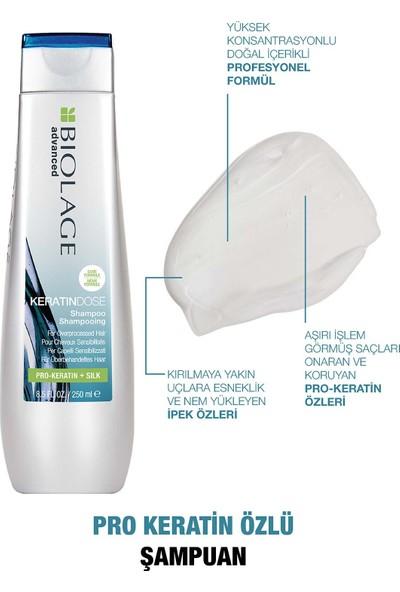 Biolage Keratindose Şampuan 250 ml + Saç Bakım Sütü 200ML Bakım Seti