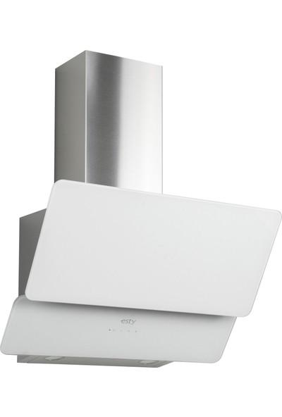 Esty Beyaz Cam Ankastre Set (AEF6602W01 Fırın, ACO5601W01 Ocak, 3471W6 Davlumbaz)