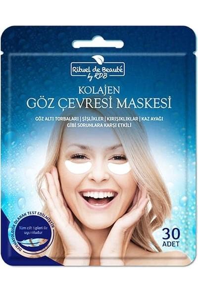 Rituel de Beaute Rituel De Beauté Kolajen Göz Çevresi Maskesi 30 Adet Tüm Cilt Tipleri