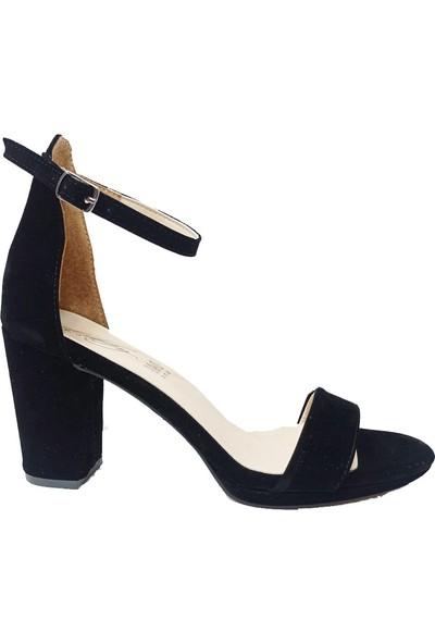 Erbay 44 Süet Trend Fashıon Kadın Sandalet