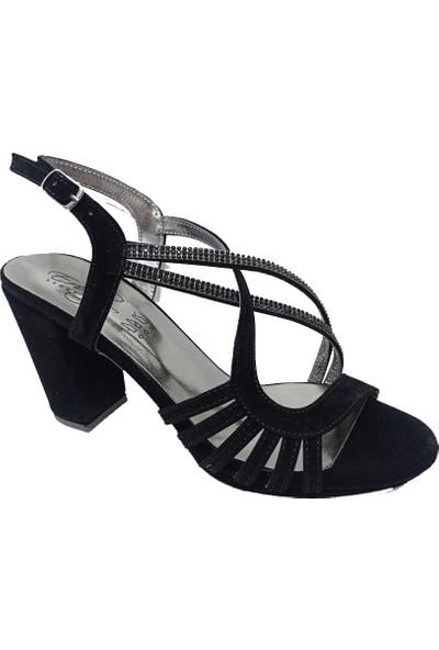 Erbay 51 Süet Trend Fashıon Kadın Sandalet