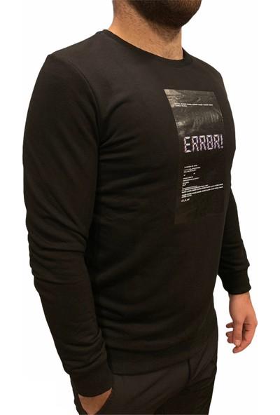 Breezy Error Erkek Siyah Sweatshirt 19402169-02