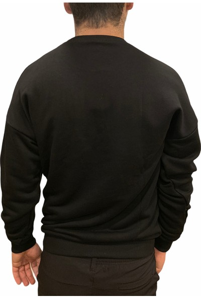 Breezy Doomsday Erkek Siyah Sweatshirt 20402007-02