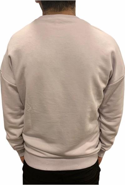 Breezy Doomsday Erkek Mor Sweatshirt 20402007-19