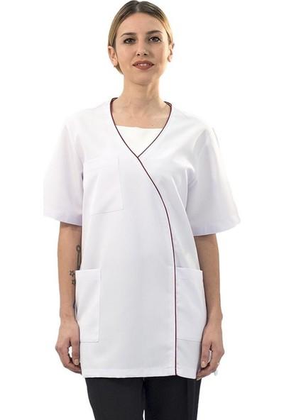 Şensel Kadın Önlük Beyaz Hastane-Hemşire