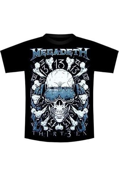 Orijin Megadeth Tişört-Thirteen