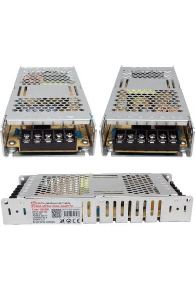 Hanover Powermaster PM-33020 5 Volt - 60 Amper Slim Metal Kasa Adaptör (P10 Paneller Için)