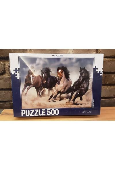 Pınarstore 500 Parça Puzzle Horses 2996