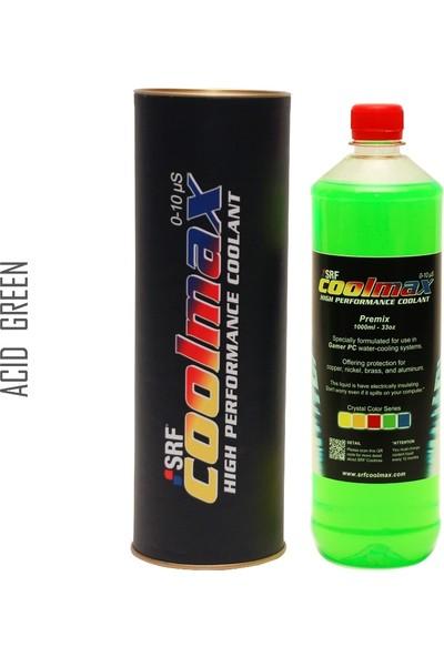 Srf Coolmax Bilgisayar Soğutma Sıvısı 1lt Asit Yeşil