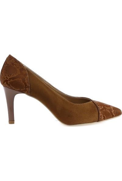 Miss F DW21002 1pr Taba Kadın Gova Ayakkabı