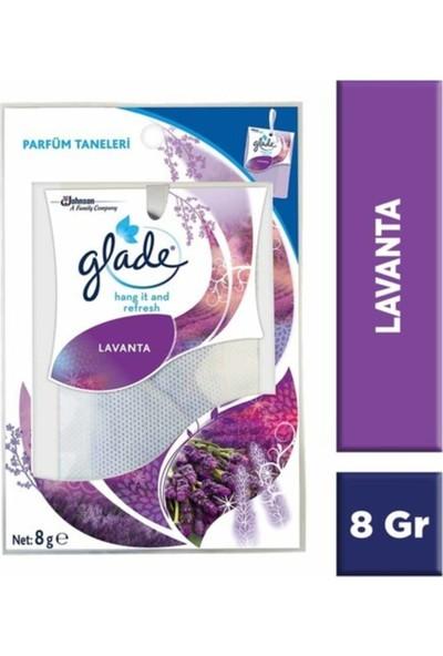 Glade Hang-It -Fresh Lavanta Dolap Kokusu 8 gr x 5