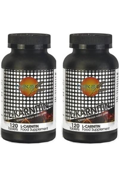 Meka Nutrition L-Carnitine 500 Mg 120 Tablet 2 Kutu