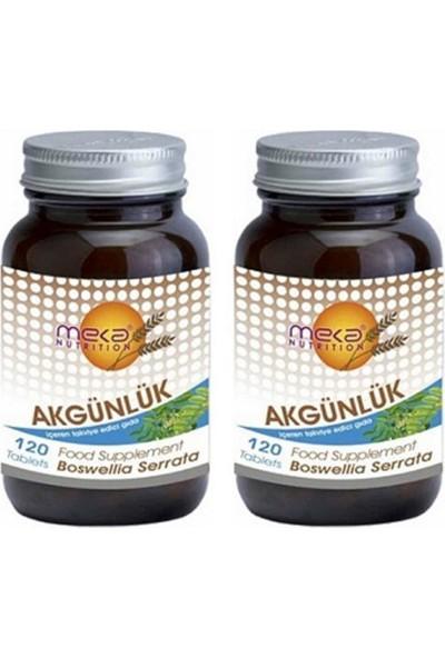 Meka Nutrition Akgünlük Boswellia 740 Mg 120 Tablet 2 Adet
