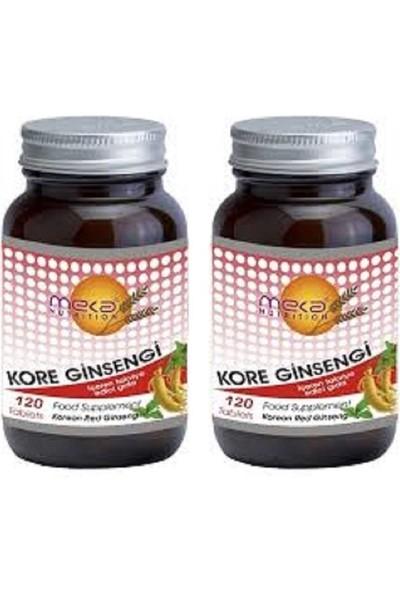 Meka Nutrition Korean Red Ginseng 500 Mg 120 Tablet 2 Kutu