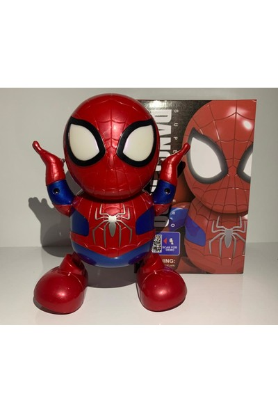 Kardelen Dance Hero Örümcek Adam Işıklı Sesli Dans Eden Robot
