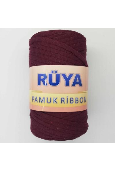 Rüya Pamuk Ribbon Ip Bordo ( 250 gr )