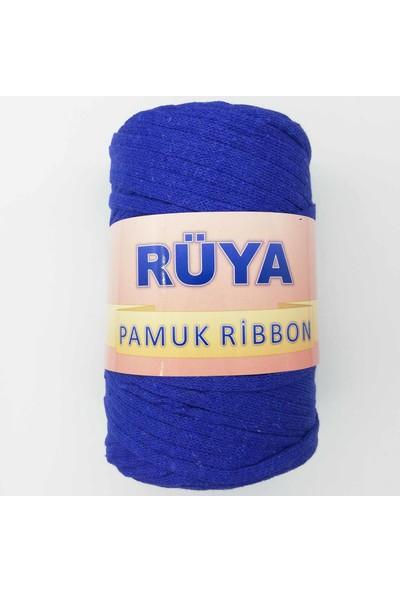 Rüya Pamuk Ribbon Ip Saks Mavisi ( 250 gr )