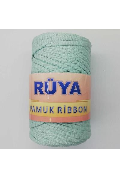 Rüya Pamuk Ribbon Ip Su Yeşili ( 250 gr )