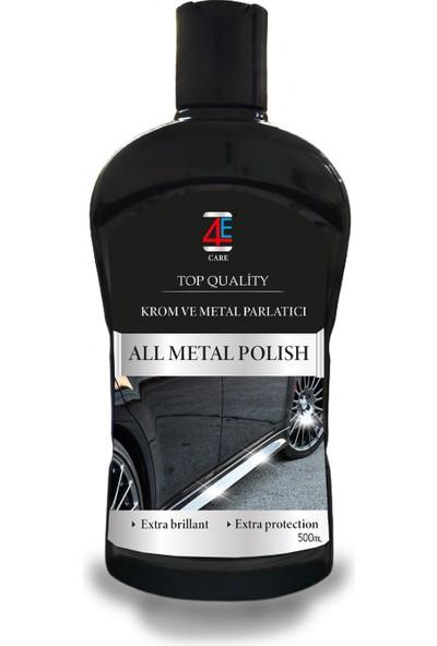 4E CARE Krom ve Metal Parlatıcı
