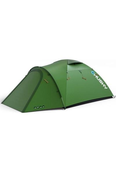Husky Baron Green 4 Kişilik Çadır Yeşil