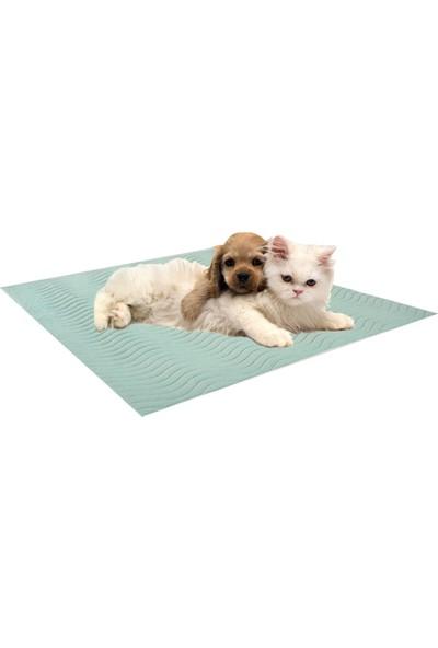 Ata Exclusive Fabrics Köpekler Için (2 Li Paket) Sıvı Geçirmez & Yıkanabilir 5 Katlı Koruyucu Örtü 75X90 cm