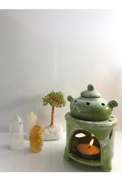 Çaydanlık Buhurdanlık ( Yeşil )