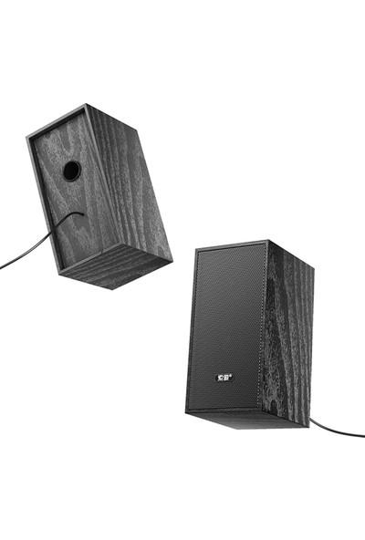 Soaiy Sa-A5 Masaüstü USB Hoparlör Siyah