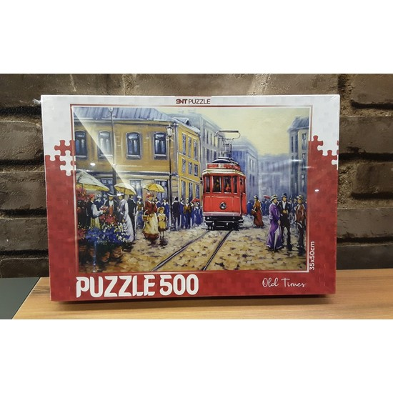 Pınarstore 500 Parça Puzzle Old Tımes 2991
