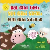 Bal Gibi Tatlı Süt Gibi Şifalı Yün Gibi Sıcacık, 3'lü Set - Vildan Sert