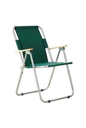 Marketonya 45X60 Kahverengi Mermer Desenli Katlanır Masa + 1 Adet Yeşil Kamp Sandalyesi Katlanır Sandalye