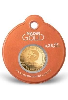 Nadir Gold 0.25 Gram 22 Ayar Külçe Altın