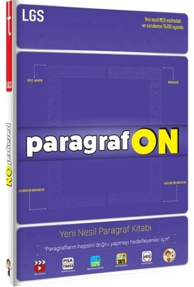Tonguç Akademi Yayınları Paragraf On 5,6,7. Sınıf ve Lgs