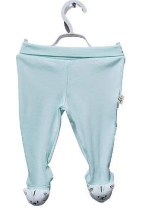 Albimini Boze Albimini Minidamla Düz Oyuncaklı Patikli Pantolon 44178 Mint