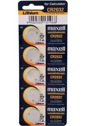 Maxell 3V Cr 2032 Cihaz ve Tartı Pili