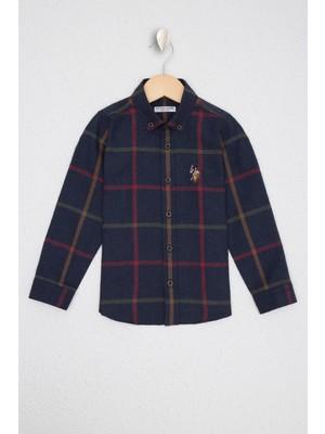 U.S. Polo Assn. Lacivert Gömlek Uzunkol 50226479-VR033