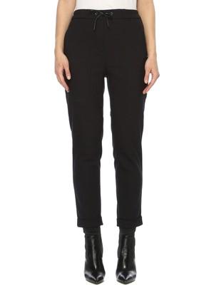 Network Kadın Basic Fit Siyah Pantolon