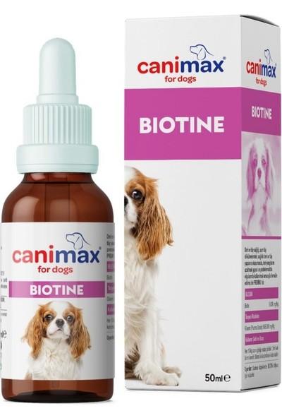 Canimax Köpeklerde Tüy Dökülesi Için Biotin 50 ml