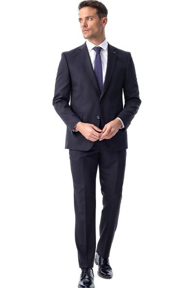 Morven Basic Dynamik Fit Takım Elbise Lacivert