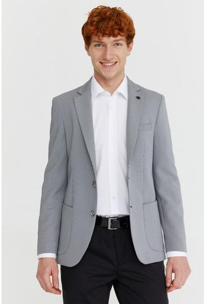 Morven Toledo Slim Fit Ceket Beyaz