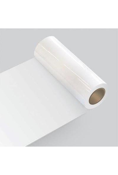 Sticker Art Yapışkanlı Folyo Beyaz Renk Renk Parlak Yüzey 61 cm 61 cm x 3 Metre