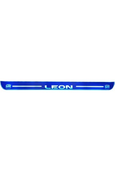 Bullcar Işıklı Kablolu Kapı Eşiği Mavi Leon