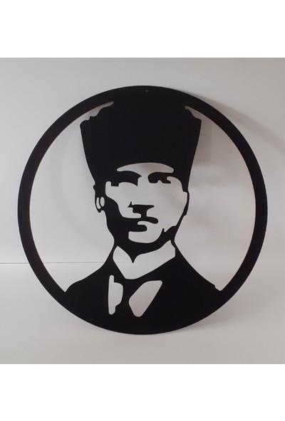 Wood Ada Ahşap Atatürk Temalı Tablo