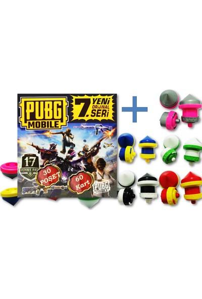 Pubg Oyun Kartı 7. Seri 30 Poşet 60 Kart - Karışık Renk ve Şekilde 1 Adet Fırdöndü