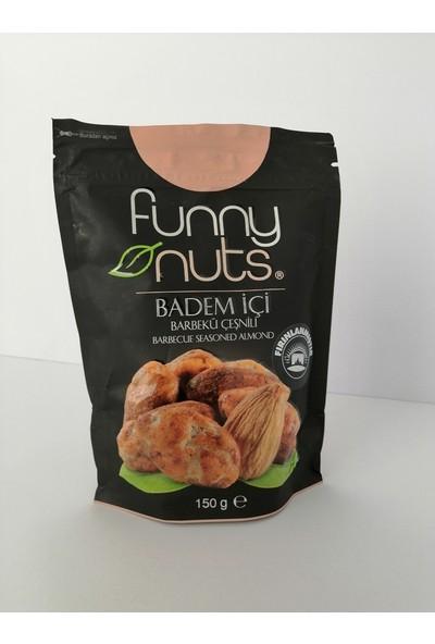 Funny Nuts Muhteşem 2'li - Barbekü Çeşnili Badem Içi, Taco Çeşnili Kaju Fıstığı