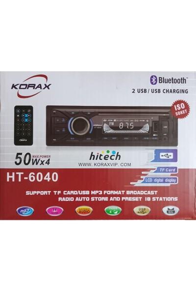 Korax HT-6040 50 Watt Oto Radyo Teyp